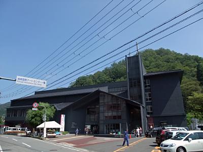 メイン会場、城崎国際アートセンター