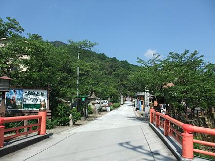 城崎国際アートセンターへ向かう道